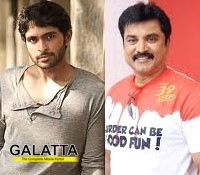 Sarathkumar and Vikram Prabhu in Ustad Hotel remake?