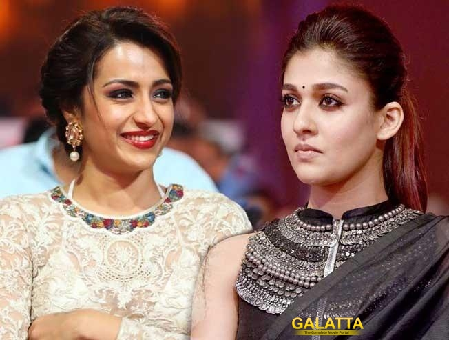 Trisha and Nayanthara