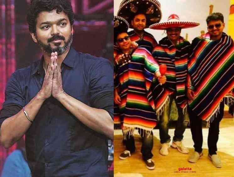Thalapathy Vijay unseen picture shared by Sanjeev goes viral - Tamil Movie Cinema News