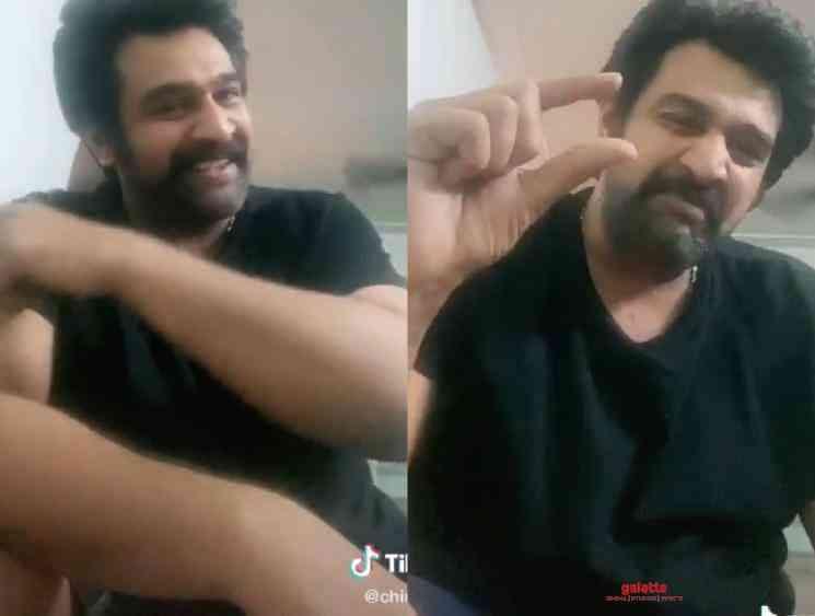 Chiranjeevi Sarja last Instagram post TikTok videos before death - Tamil Movie Cinema News
