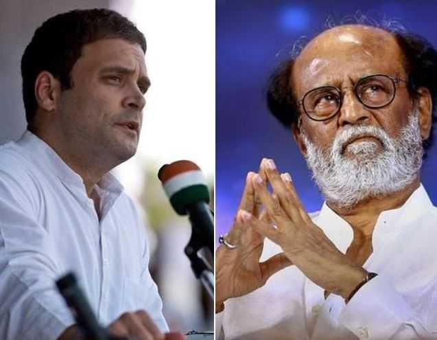Rajinikanth Press Meet Speaks About Rahul Gandhi Congress Lok Shaba Elections  - Tamil Movie Cinema News
