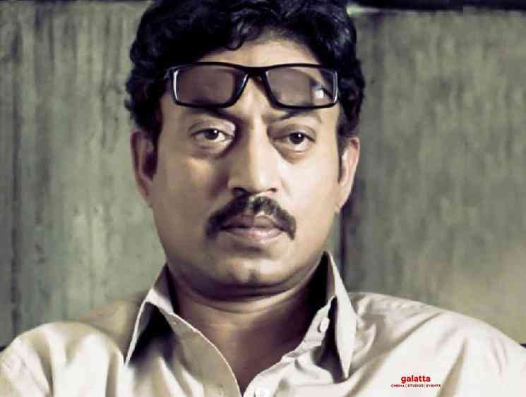 Bollywood actor Irrfan Khan passed away at the age of 54 - Tamil Movie Cinema News