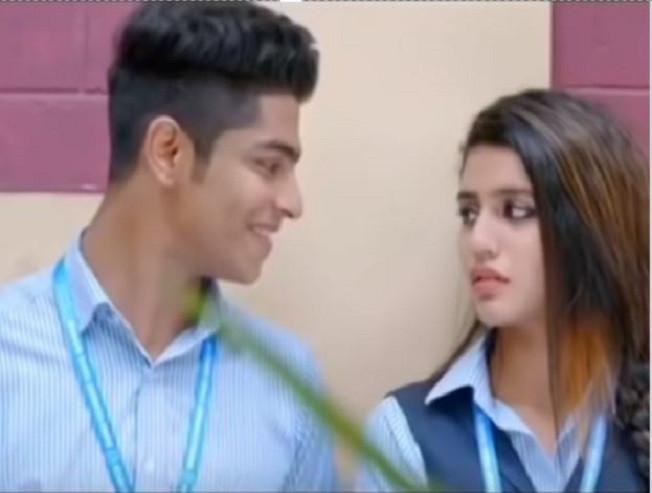 Watch Priya Prakash Varrier's school days love video here