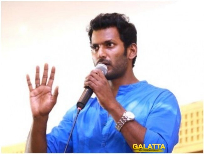 Vishal Statement Against H Raja On Periyar Statue Issue