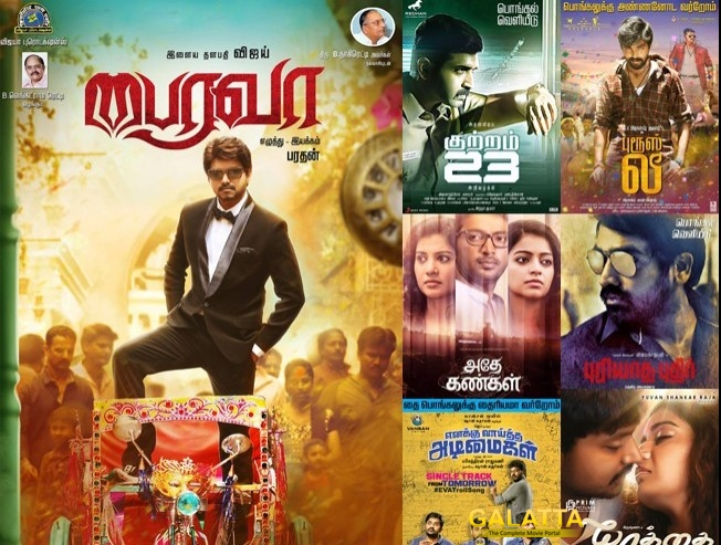 Films queue up for Pongal 2017 release