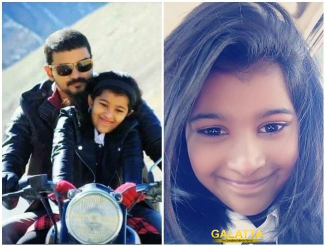 Vijay Daughter Divya Saasha To Make Singing Debut Thalapathy 62 Vijay 62 Thalapathy 63 Vijay 63