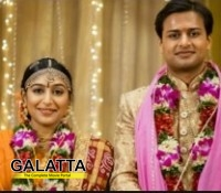 Padmapriya gets hitched!