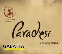 Bala's Paradesi goes to London Film Festival