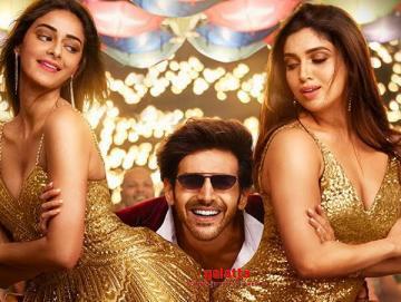 Ankhiyon Se Goli Pati Patni Aur Woh Kartik Bhumi Ananya - Tamil Movie Cinema News