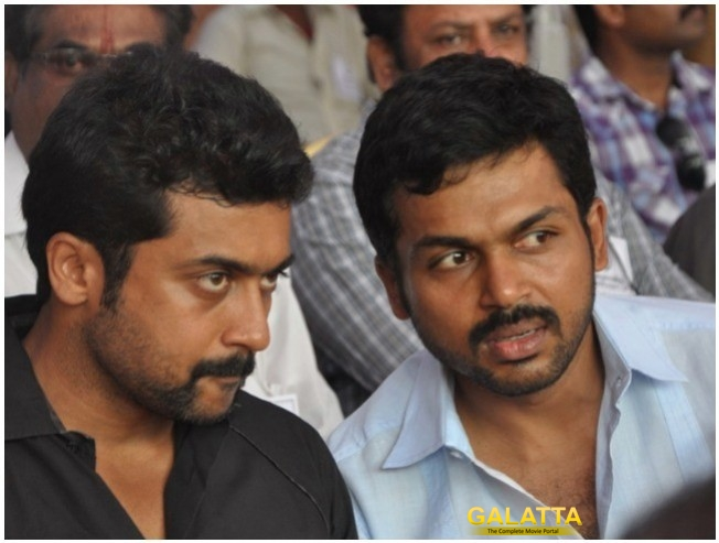 Suriya & Karthi Join The Party