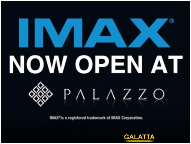 SPI Cinemas First IMAX Screen Is Now Open At Palazzo