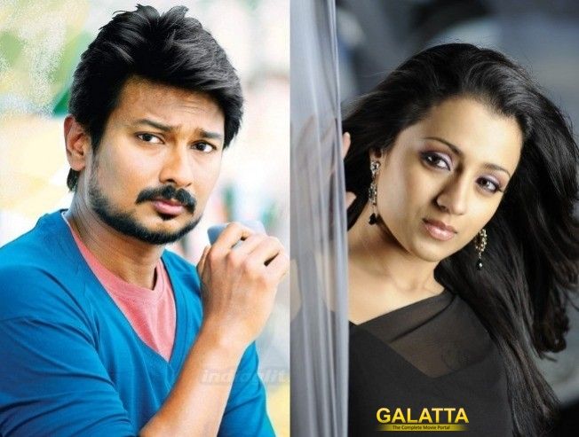 Udhayanidhi Trisha To Join Hands For Romantic Horror Movie