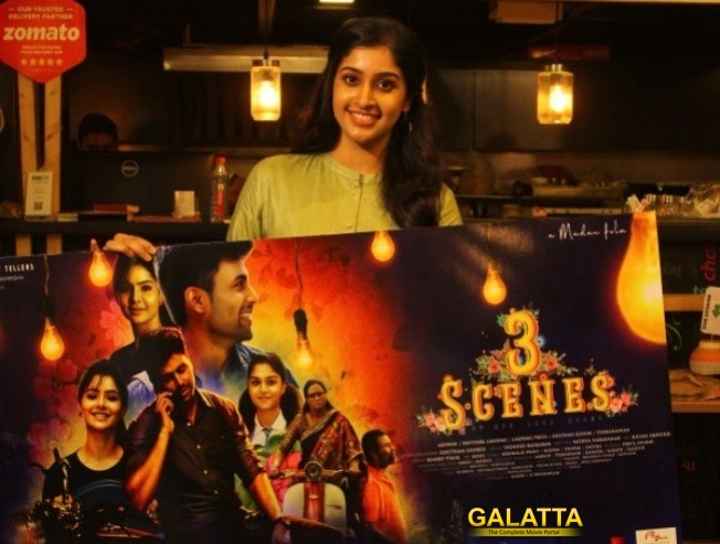 Actress Tanya Launched 3 Scenes Pilot Film Poster!