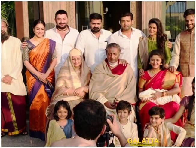 CCV Celebrities Reaction Chekka Chivantha Vaanam Mani Ratnam STR Vijay Sethupathi Arvind Swami Arun Vijay