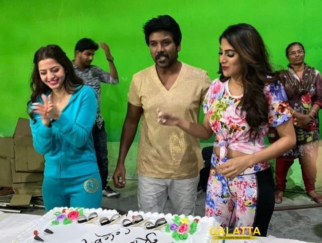 Raghava Lawrence Next Movie Kanchana 3 Shooting Wrapped Up