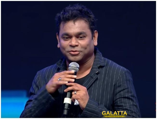 Sarkar Audio Launch A R Rahman Speech Sarkar Kondattam