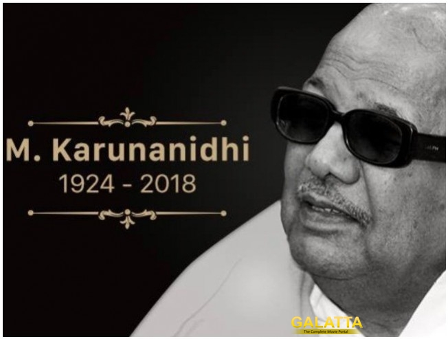 Karunanidhi Cremation To Not Happen At Marina Beach
