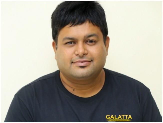Caarthick Raju Appreciates Thaman Work In Sundeep Kishan Movie