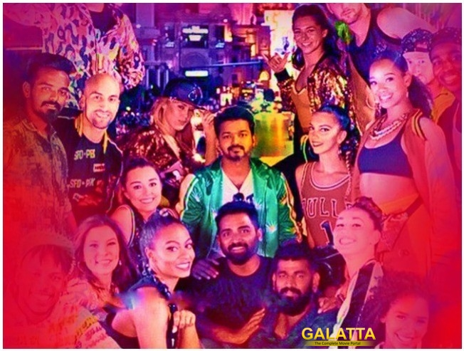 Vijay Sarkar Opening Song Shooting Was Filmed In Las Vegas