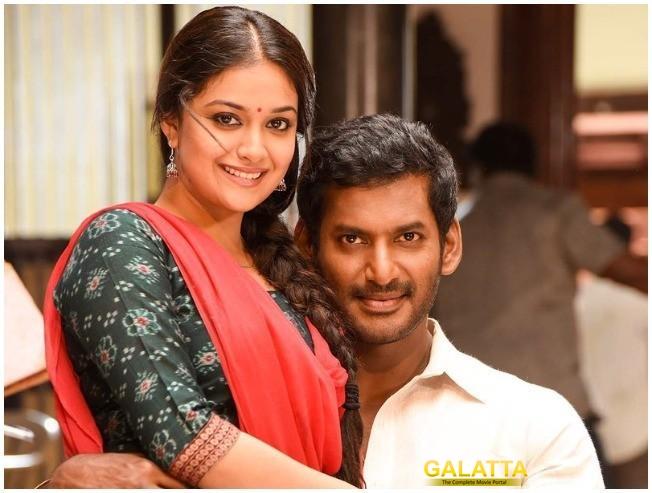 Sandakozhi 2 Making Video Vishal Keerthy Suresh Varalaxmi Sarathkumar Lingusamy