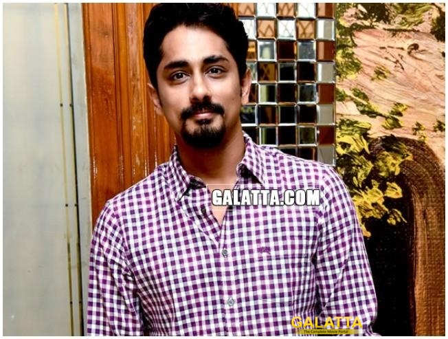 Siddharth Raises His Voice For MeToo Movement!