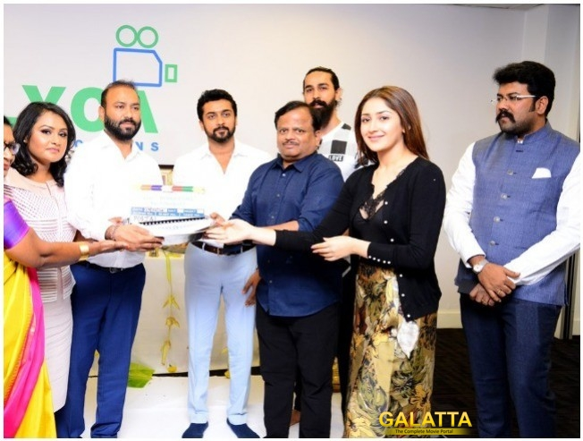 Suriya 37: Begins At London