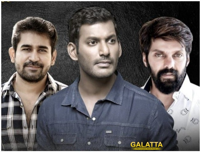 Vishal, Arya & Vijay Antony Come Together For RK Suresh