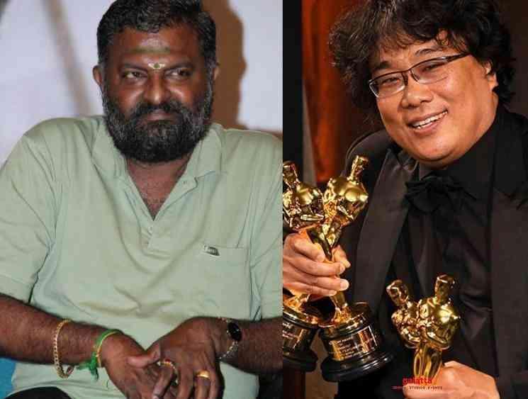 PL Thenappan sends legal notice Bong Joon Ho Parasite controversy - Tamil Movie Cinema News