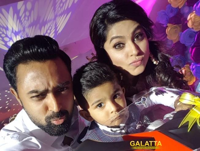 Three is family: Prasanna and Sneha