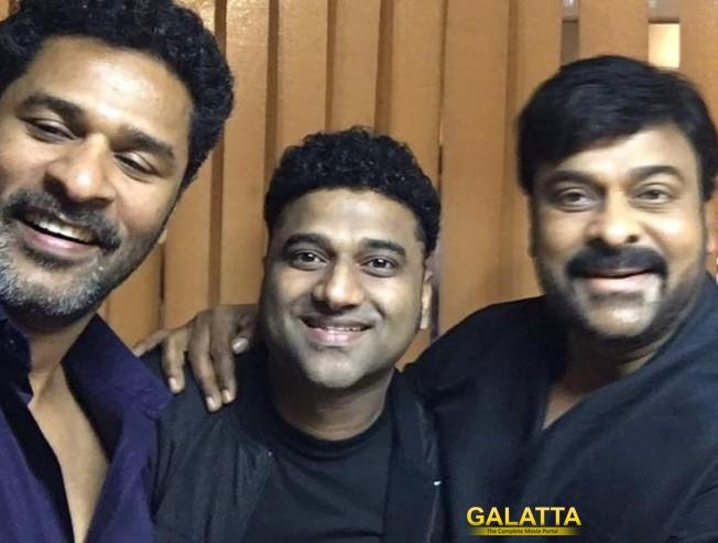 Prabhudeva to choreograph for Chiru's 150th film!