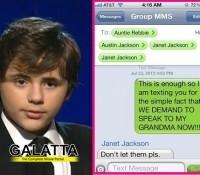Prince Michael Jackson posts angry messages!