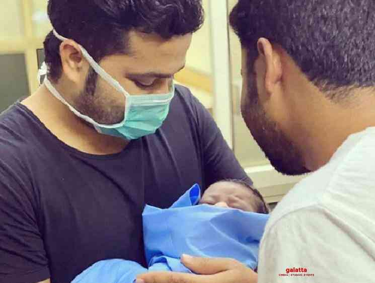 Sanjeev shares throwback picture holds his baby first time - Tamil Movie Cinema News
