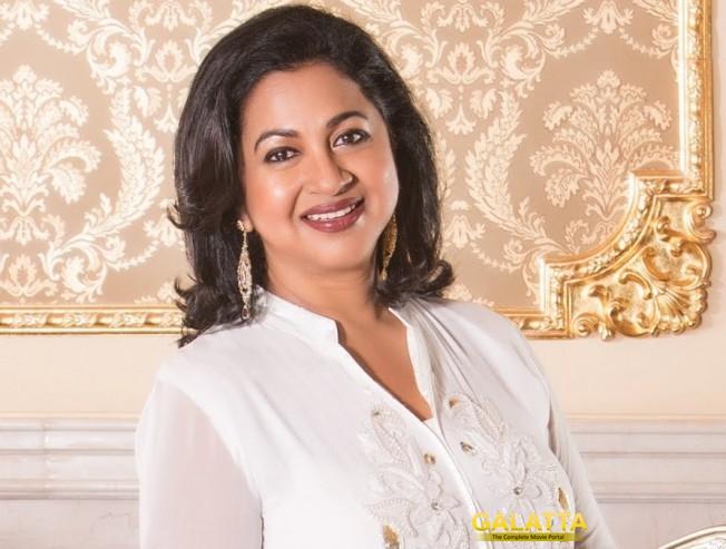 Radikaa questions Vishal, Karthi