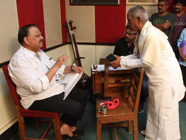 Singer SPB recorded song with the maestro Ilayaraja for Vijay Antonys next Thamilarasan