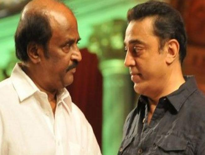 Kamal Haasan's Striking Statement On Rajinikanth!