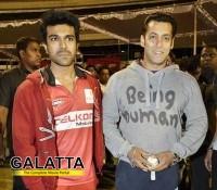 Ram Charan And Salman - Close friends?