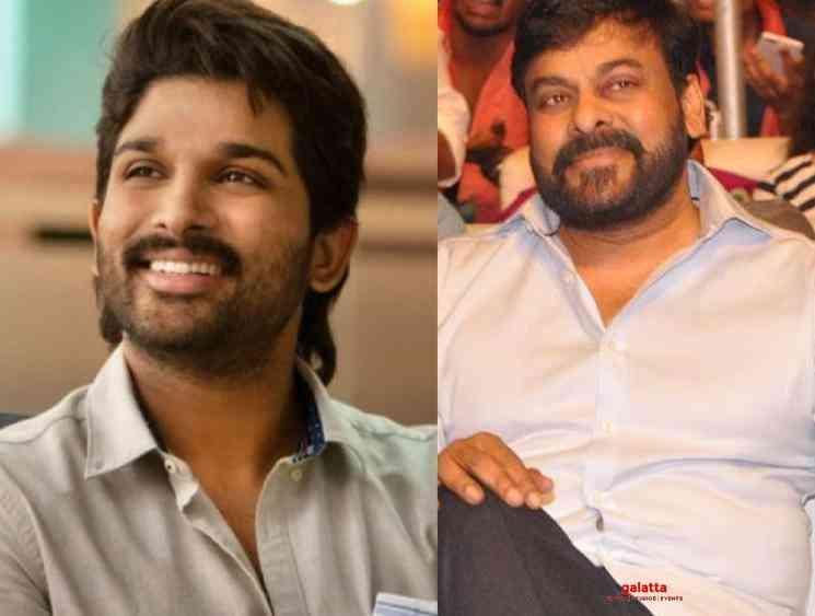 Allu Arjun not acting Lucifer Telugu remake starring Chiranjeevi - Tamil Movie Cinema News