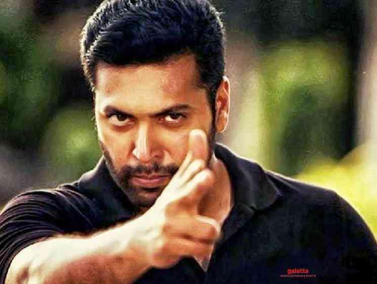 Jayam Ravi donates 5 lakhs for FEFSI workers Corona shutdown - Tamil Movie Cinema News