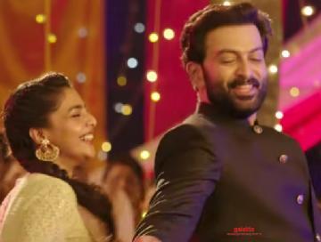 Prithviraj Brothers Day Success teaser Aishwarya Lekshmi