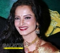 Rekha feels lucky to have successful films!