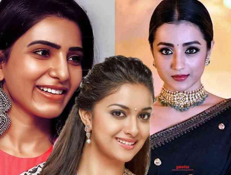 Trisha and Samantha to release Keerthy Sureshs Penguin teaser - Tamil Movie Cinema News