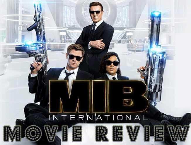 Men in Black International Movie Review | Chris Hemsworth