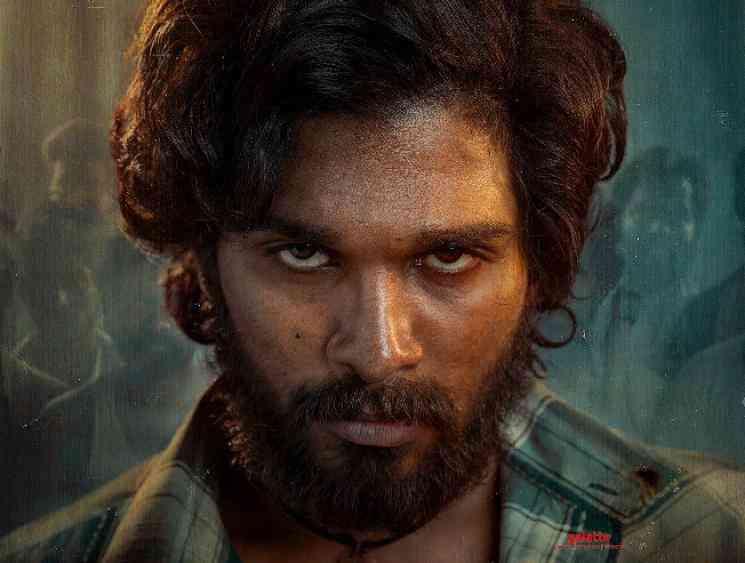 Allu Arjun next AA20 titled Pushpa first look poster released - Tamil Movie Cinema News