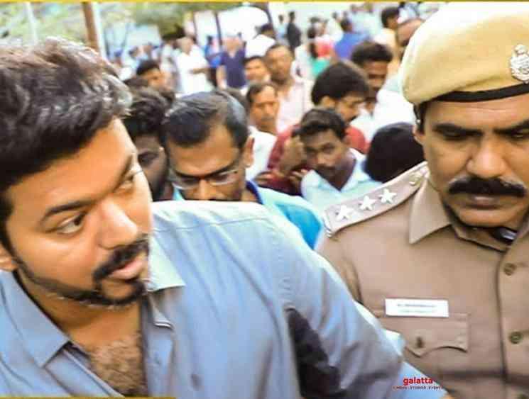 Income Tax officials bring Vijay to Chennai by road from Neyveli - Tamil Movie Cinema News