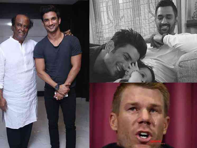 Celebrity reactions to Sushant Singh Rajput sudden death - Tamil Movie Cinema News