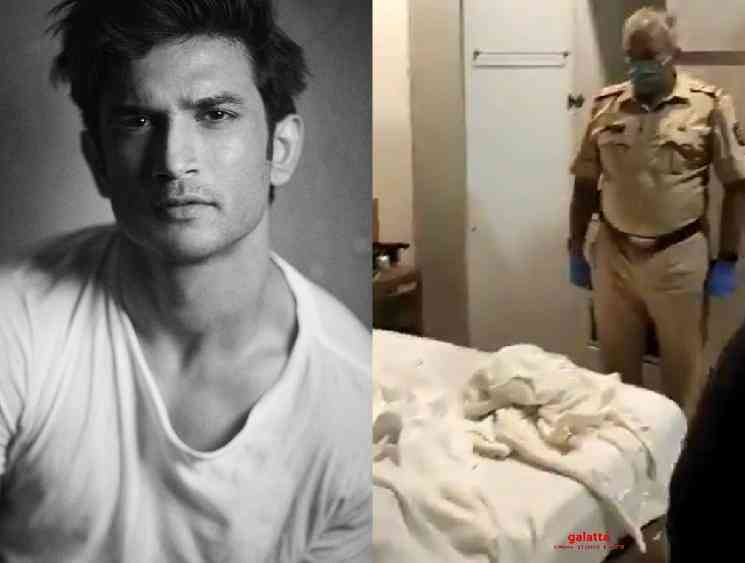 Video taken at Sushant Singh Rajput house after his death - Tamil Movie Cinema News