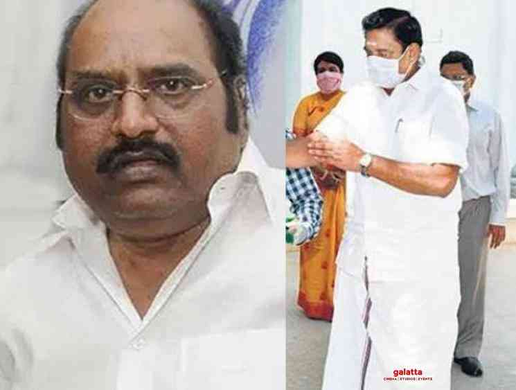 TN CM meets Corona affected DMK MLA J Anbazhagan - Tamil Movie Cinema News