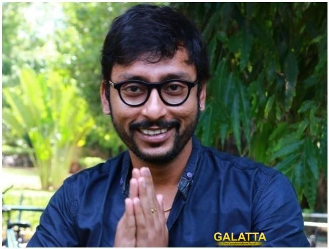 RJ Balaji comedian turned actor gets emotional for LKG