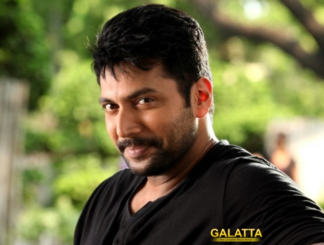 Jayam Ravi Bursts With Laughter Over this Meme