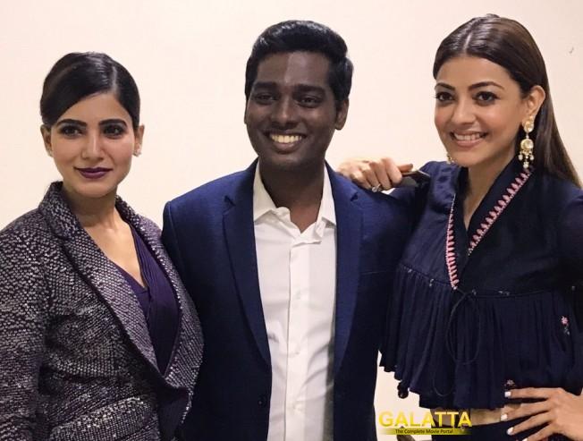 The Bond between Samantha and Kajal Aggarwal